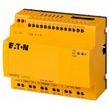 Przekaźnik programowalny bezpieczeństwa 24V DC 14we/4wy (tranzystorowe) easySafety ES4P-221-DMXX1 111016