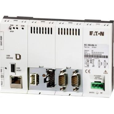Sterownik PLC ETH RS242 RS485 PROFIBUS DP USB SmartWire-DT 24V DC 167852