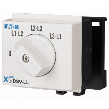 Przełącznik woltomierza 3xL-L do wbudowania Z-DSV-LL 248879