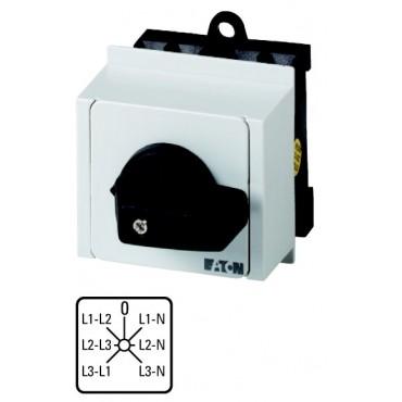 Przełącznik woltomierza 3xL-L i 3xL-N na szynę T0-3-8007/IVS 012759