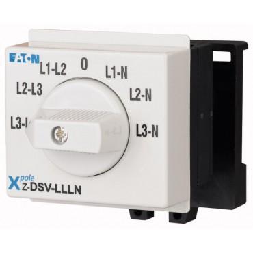Przełącznik woltomierza 3xL-L i 3xL-N do wbudowania Z-DSV-LLLN 248880