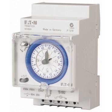 Zegar sterujący analogowy 16A dobowy jednokanałowy TSQD1CO 167390