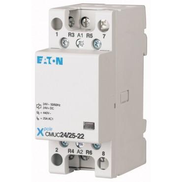 Stycznik modułowy 25A 4Z 0R 24V AC/DC CMUC24/25-40 137308
