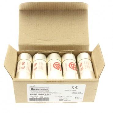 Wkładka bezpiecznikowa cylindryczna 22x58mm 80A aR 700V do półprzewodników FWP-80A22FI