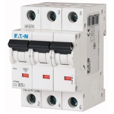 Wyłącznik nadprądowy 3P B 25A 6kA AC CLS6-B25/3-DP 270410
