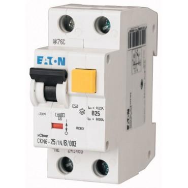 Wyłącznik różnicowo-nadprądowy 2P 25A B 0,03A typ AC CKN6 25/1N/B/003 241453