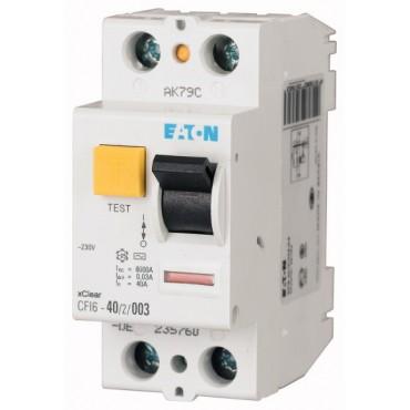 Wyłącznik różnicowoprądowy 2P 25A 0,03A typ A CFI6 25/2/003-A 235757