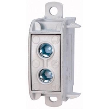 Listwa zaciskowa 1P 16-50mm2 100A PE/N/PEN K50/1 098573