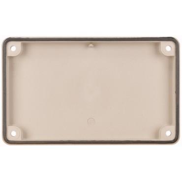 Osłona zabezpieczająca z materiału elektroizolacyjnego bez otworów F3A-0 074182