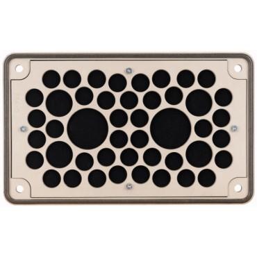 Osłona zabezpieczająca z materiału elektroizolacyjnego 40x10-13, 4x17-21, 2x27-30mm F3A-D 010145