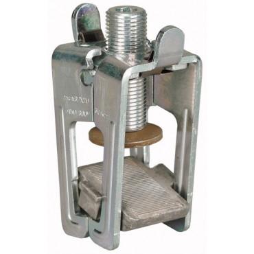 Zacisk szczękowy 25mm płaskownik AKS-CU-BAND 107197