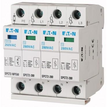 Ogranicznik przepięć C 3P+N 20kA SPCT2-280-3+NPE 167620