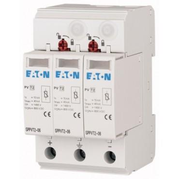 Ogranicznik przepięć typ 1+2 2P+N 15kA 3,7kV 1000V DC z sygnalizacją SPPVT12-10-2+PE-AX 177255