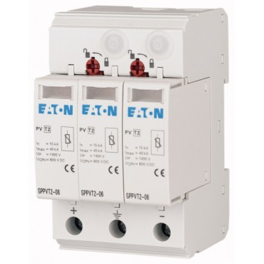 Ogranicznik przepięć typ 2 1000V DC z sygnalizacja SPPVT2-10-2+PE-AX 176089