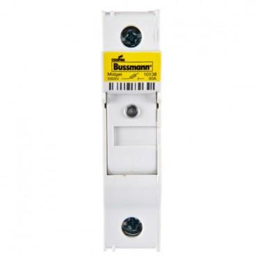 Rozłącznik bezpiecznikowy cylindryczny PV 2P 32A 10x38mm z sygnalizacją CHPV2IU