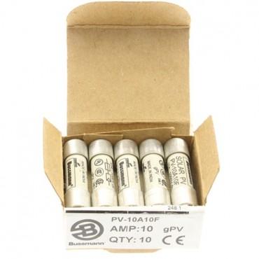 Wkładka bezpiecznikowa cylindryczna PV 10x38mm 10A gPV 1000V DC PV-10A10F