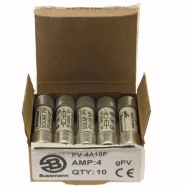 Wkładka bezpiecznikowa cylindryczna PV 10x38mm 4A gPV 1000V DC PV-4A10F