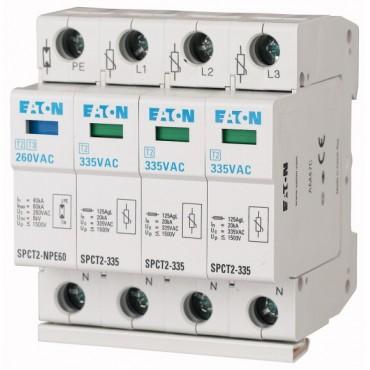 Ogranicznik przepięć C 4P 40kA 1,4kV SPCT2-335-3+NPE 167622