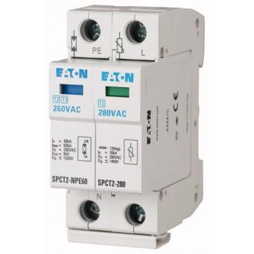 Ogranicznik przepięć C Typ 2 2F 20kA 1.4kV SPCT2-335-1+NPE 167621