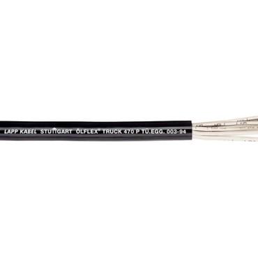 Przewód do przyczep OLFLEX TRUCK 470 P (FLRYY11Y) 3x2,5+10x1,5 7027091 /bębnowy/
