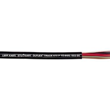 Przewód do przyczep OLFLEX TRUCK 470 P (FLRYY11Y) 2x1,5 biały/czarny 7027020 /bębnowy/