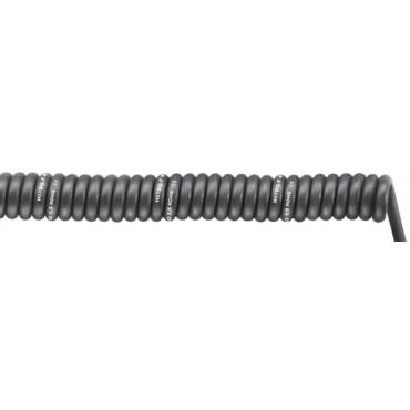 Przewód spiralny SPIRAL H07BQ-F BLACK 5G1,5 1-3m 70002759