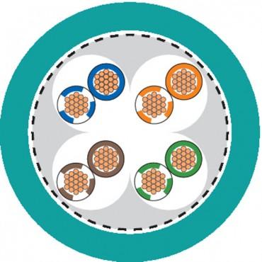 Przewód teleinformatyczny ETHERLINE FD P kat.5e 4x2xAWG26 2170489 /100m/