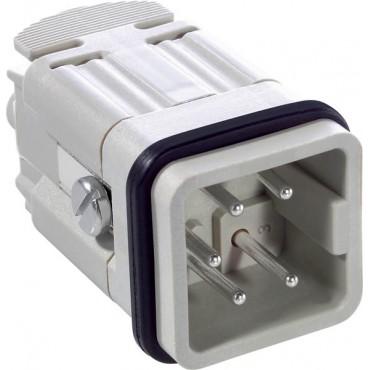 Wkład złącza 4P+PE męski 23A 400V EPIC H-A 4 SS 10431000