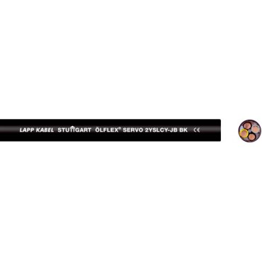 Przewód do przetwornic OLFLEX SERVO 2YSLCY-JB 4G6 0036428 /bębnowy/