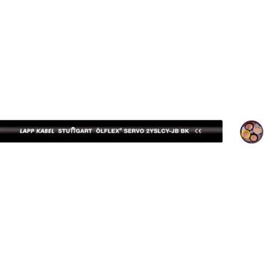 Przewód do przetwornic OLFLEX SERVO 2YSLCY-JB 4G25 0036431 /bębnowy/
