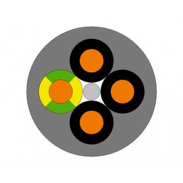 Przewód sterowniczy OLFLEX CLASSIC 110 4G0,5 1119004 /bębnowy/
