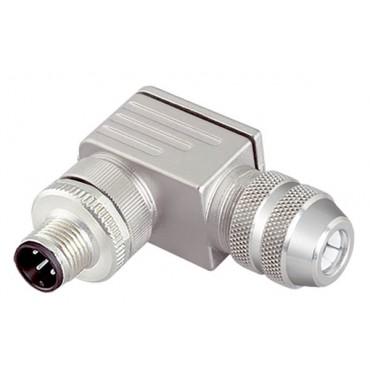 Wtyczka prosta 4P FIELDBUS M12 S/A AB-C4-M12MS-PG7 22260649