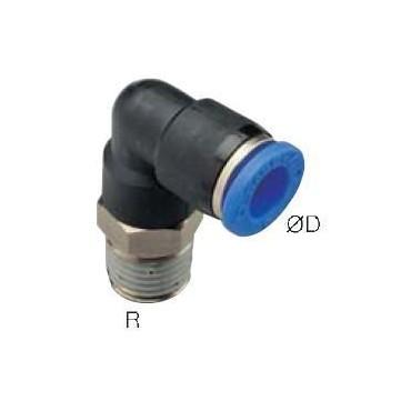 Szybkozłącze G-Fitting wtykowe kątowe Sang-A GPL przewód 6 mm gwint M6