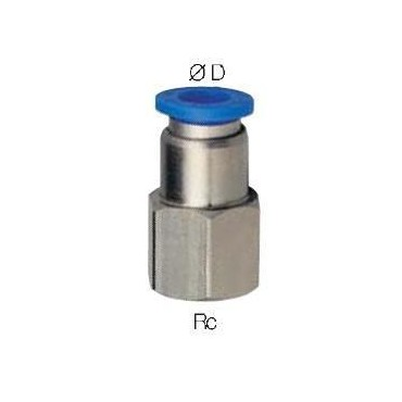 Szybkozłącze G-Fitting wtykowe proste Sang-A PCF przewód 10 mm gwint 1/4