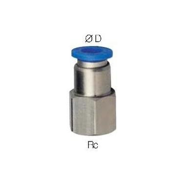 Szybkozłącze G-Fitting wtykowe proste Sang-A PCF-G przewód 4 mm gwint 3/8