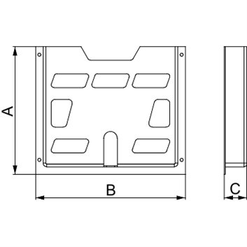 Plastikowa koszulka na dokumenty A5, 174x188x22mm NSYDPA5