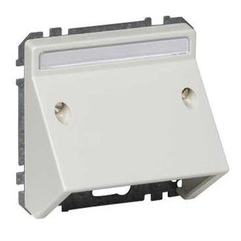 Merten System D Wypust kablowy biały polarny MTN464319