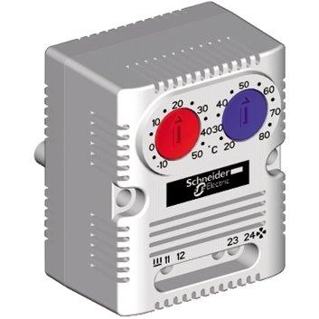 Termostat 10A 1Z 1R 250V -10-80°C NSYCCOTHD