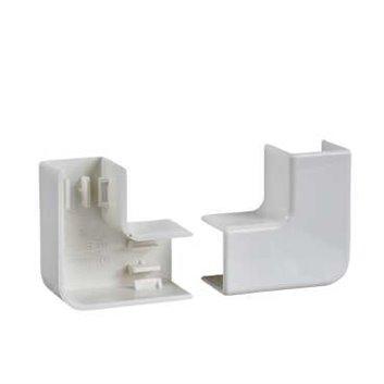 Łącznik kątowy ULTRA 90st 60x25/60x40/60x60 biały ETK60341