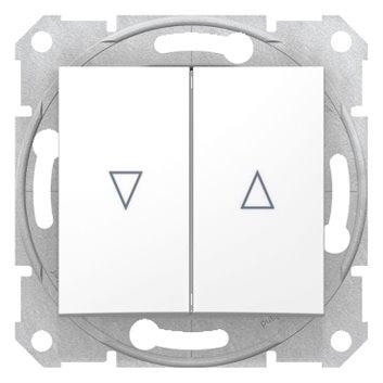 Sedna Łącznik żaluzjowy 2-biegunowy z blokadą mechaniczną 10A biały SDN1300321