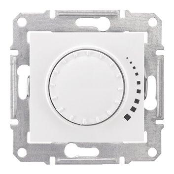 Sedna Ściemniacz obrotowy 60-500VA biały SDN2200521