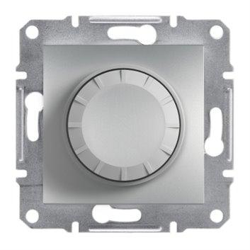 ASFORA Ściemniacz RL (łacznik schod.) z podświetleniem bez ramki aluminium EPH6500161