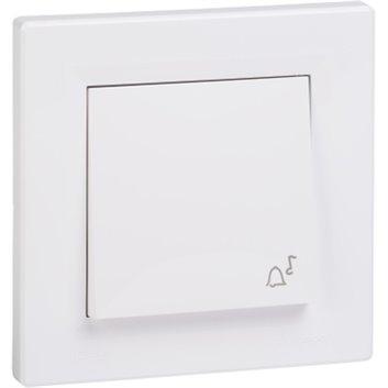 ASFORA Przycisk dzwonek IP44 biały EPH0800221