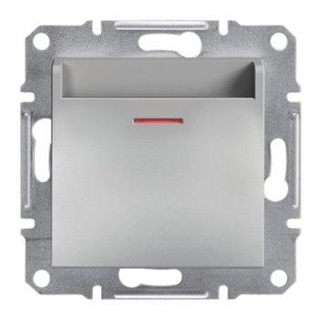 ASFORA Łącznik hotelowy (mechaniczny) bez ramki aluminium EPH6200161