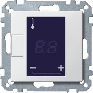 Merten Regulator temperatury uniwersalny 230V 5-50 stopni IP20 z ekranem dotykowym MTN5775-0000
