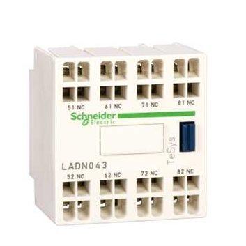 Blok styków pomocniczych, 3 NO+1 NC, zaciski sprężynowe LADN313