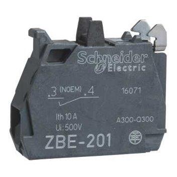 Blok styków pojedynczy dla głowicy O22 1NO pozłacane zaciski śrubowe ZBE1016P