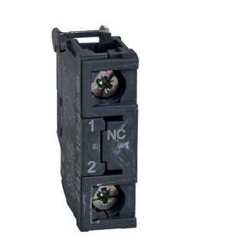 Blok styków pojedynczy dla głowicy O22 1NC pozłacane zaciski śrubowe ZBE1026P