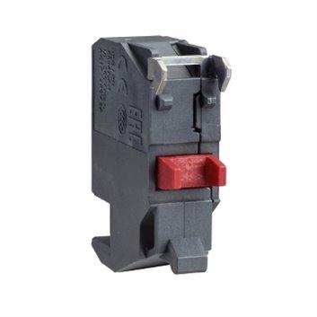 Blok styków pojedynczy dla głowicy O22 1NC złącze wtykowe ZBE1024