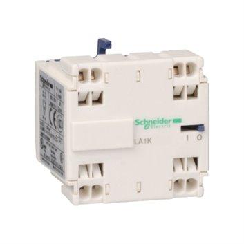 Blok styków pom. do styczników miniaturowych, 1 NO+1 NC, zaciski sprężynowe LA1KN113